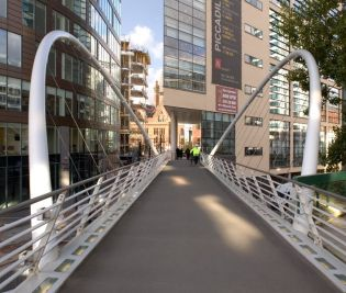 Carillion; Butterfly Arch Bespoke Bridge