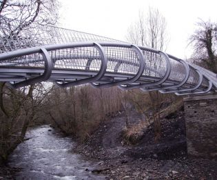 Marton Truss; Artists Bridge; Bespoke Steel Bridge