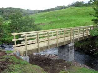 Scottish Orienteering two span kit bridge