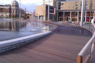 FSC Boardwalk at Bradford City Park