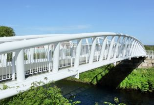 Bow Arch Cycle Bridge, Swansea - Ref 3834