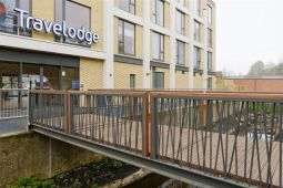 Bespoke bridge for new Travelodge, Bury St Edmunds