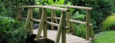 Monet style footbridge - 4618