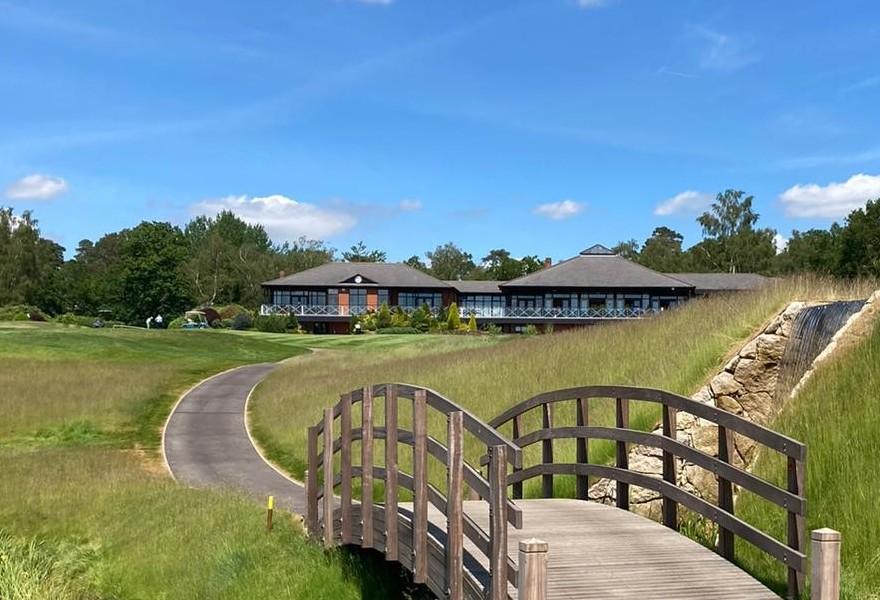 Golf Buggy Bridge at Bearwood Lakes Golf Club - Ref 4809