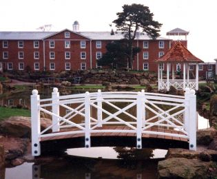 Alton Towers Ornamental bridge