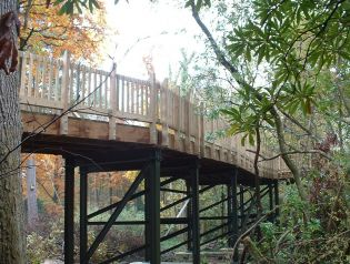 Stover; Aerial Walkway