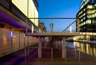 Paddington Basin; Ramps and Steps.