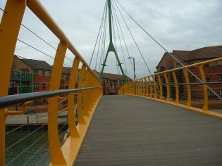 Southbridge; Cable Stay Footbridge