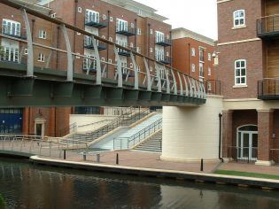 Dickens Heath; Canal Footbridge