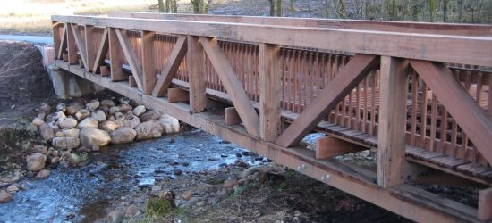 Timber Truss Footbridges